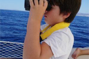 Navegando a bordo del Mar i Cel