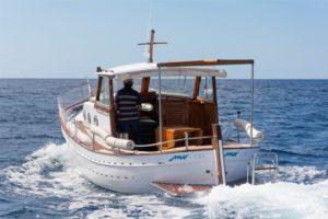 Llaut Mar i Cel navegando