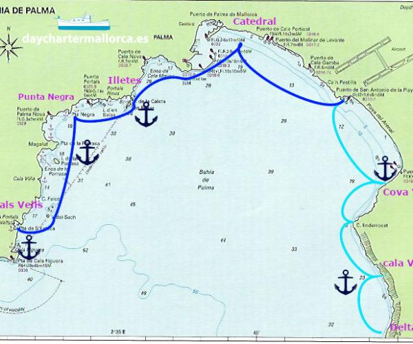 Descubre la bahía de Palma